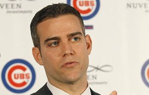 Epstein introduced as Cubs Baseball President